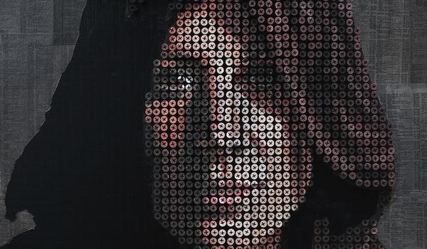 Tròn mắt với những bức chân dung và tác phẩm nghệ thuật được làm từ ốc vít 11