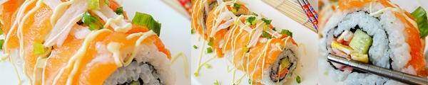 Cách làm cơm sushi và công thức 2 loại sushi ngon tuyệt 3