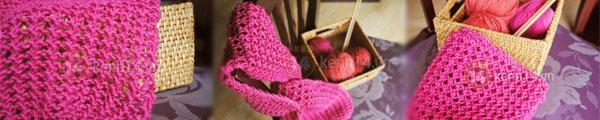 Học móc khăn len đơn giản cho những ngày trở lạnh 11