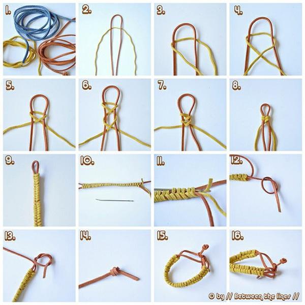 Sưu tầm những cách làm vòng tay xinh xắn 5