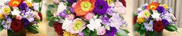 Cắm giỏ hoa thanh nhã trang trí nhà năm mới 12