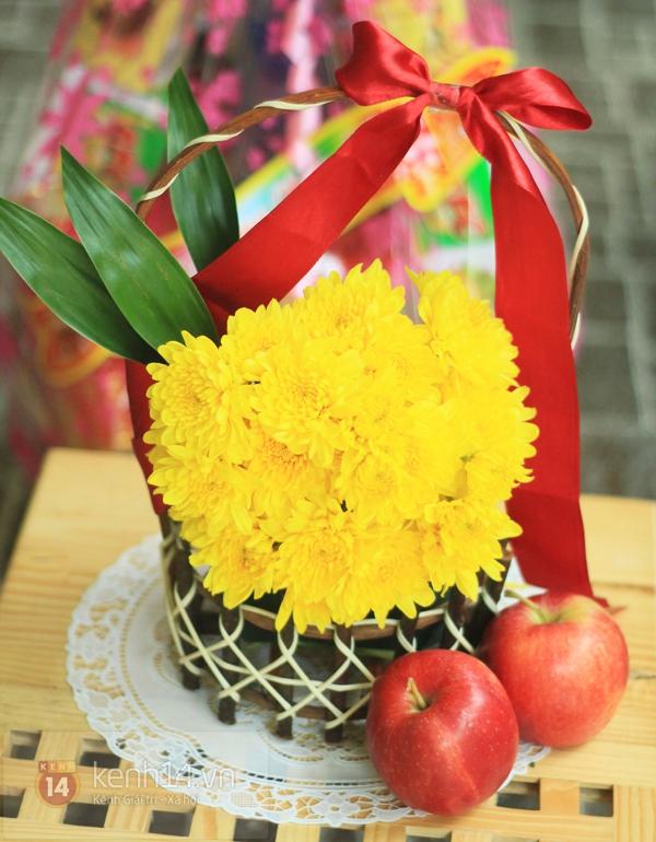 Xem nhanh cách cắm hoa cúc đơn giản 12