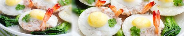 Trứng rán thần kỳ giải cứu cổ họng đau rát 10