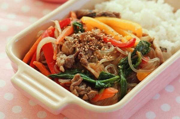 Ăn miến trộn Hàn Quốc thanh mát dễ làm 10