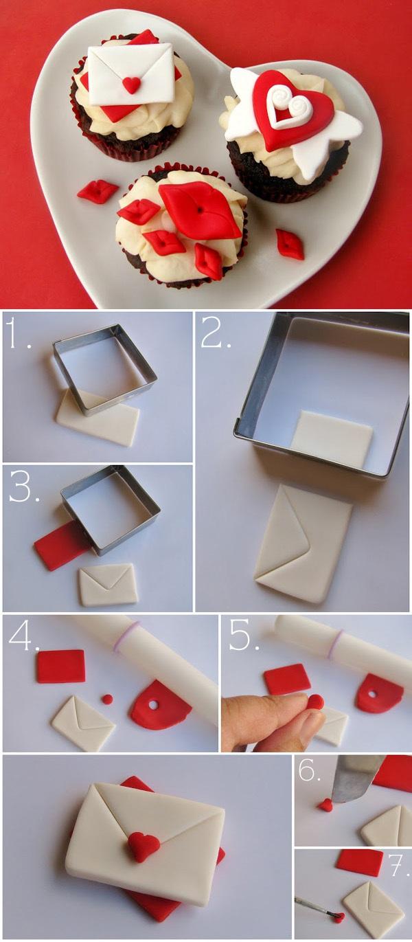 Những cách trang trí cupcake độc đáo từ fondant 5