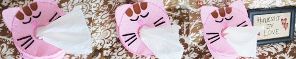 Hộp đựng giấy ăn trong dáng chú thỏ cực đáng yêu 9