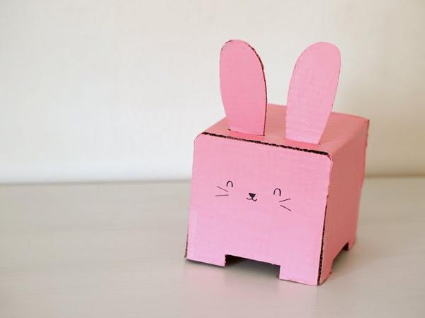 Hộp đựng giấy ăn trong dáng chú thỏ cực đáng yêu 6
