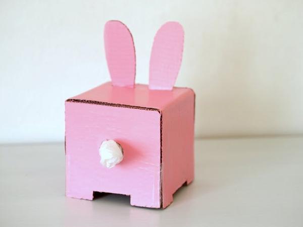 Hộp đựng giấy ăn trong dáng chú thỏ cực đáng yêu 7