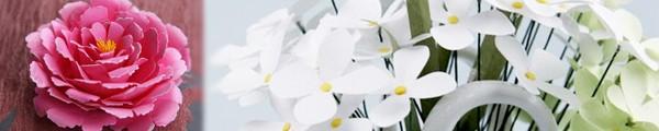 Tuyển tập hoa xinh làm từ giấy và vải vụn 5