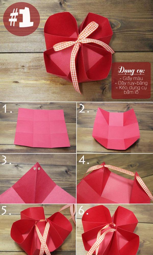 3 cách gấp hộp giấy siêu nhanh mà tiện lợi 1