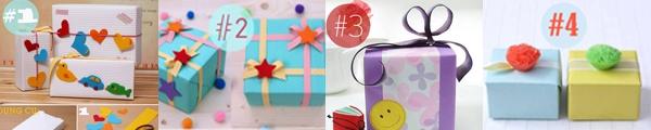 Học cách gấp hộp quà tam giác đơn giản và tiện lợi 14