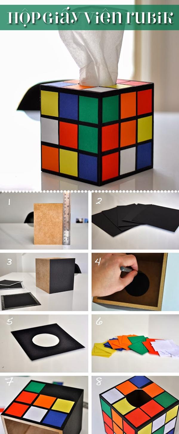 3 kiểu sáng tạo hay ho đơn giản cho chiếc hộp đựng khăn giấy 1