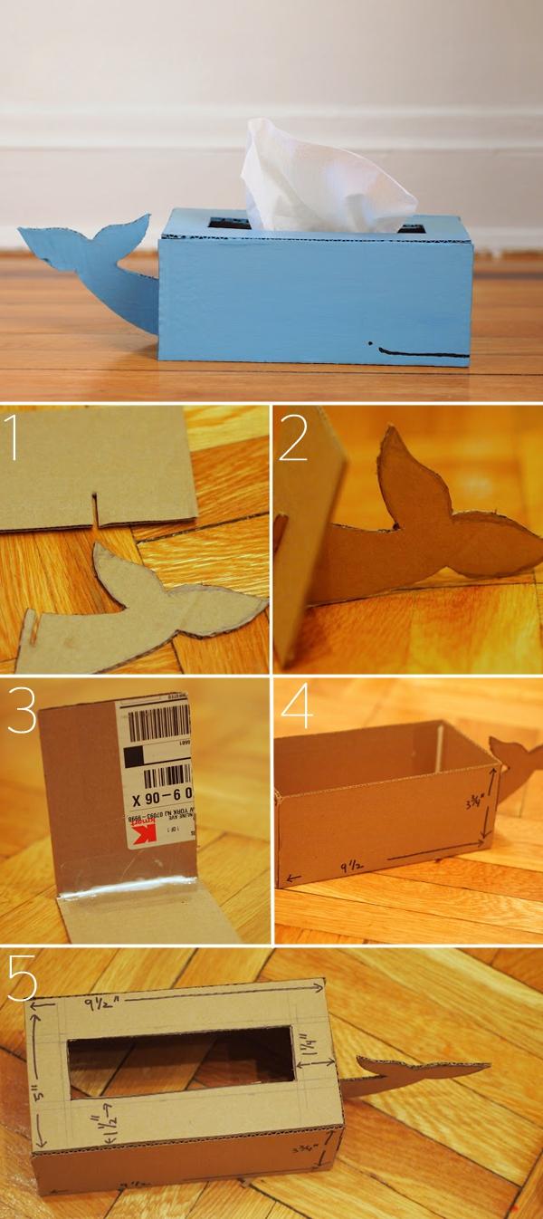 3 kiểu sáng tạo hay ho đơn giản cho chiếc hộp đựng khăn giấy 3