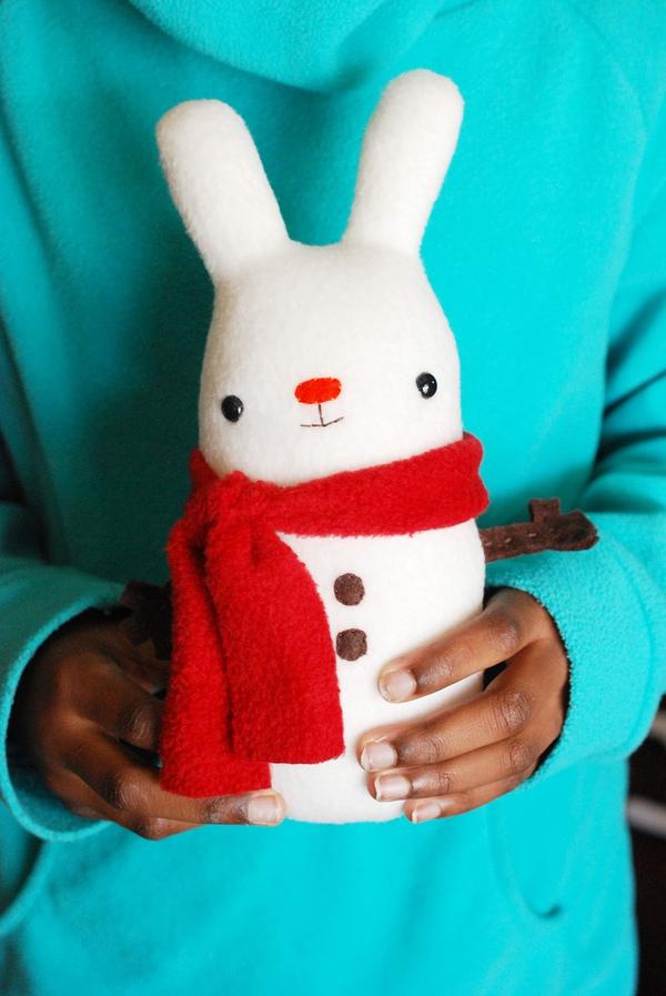 May thỏ bông êm ái xua tan cái lạnh 14