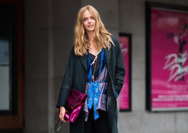 Áo khoác kimono - Xu hướng áo bay bổng, nhẹ bẫng của mùa hè 17