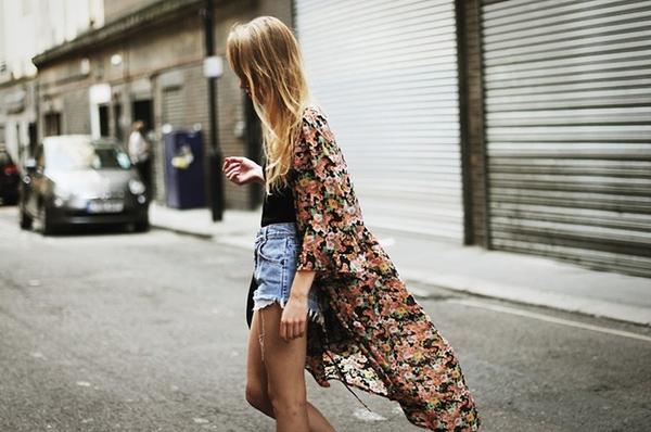 Áo khoác kimono - Xu hướng áo bay bổng, nhẹ bẫng của mùa hè 14