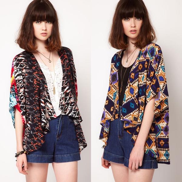 Áo khoác kimono - Xu hướng áo bay bổng, nhẹ bẫng của mùa hè 25