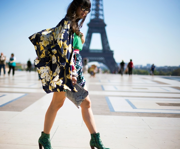 Áo khoác kimono - Xu hướng áo bay bổng, nhẹ bẫng của mùa hè 28