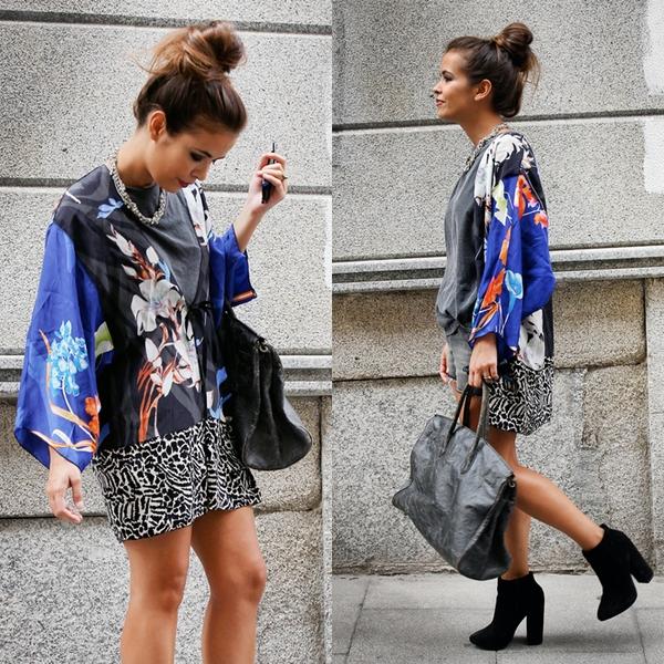 Áo khoác kimono - Xu hướng áo bay bổng, nhẹ bẫng của mùa hè 32