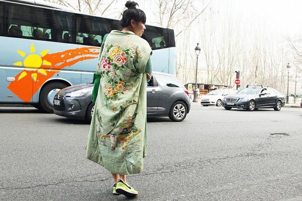 Áo khoác kimono - Xu hướng áo bay bổng, nhẹ bẫng của mùa hè 8