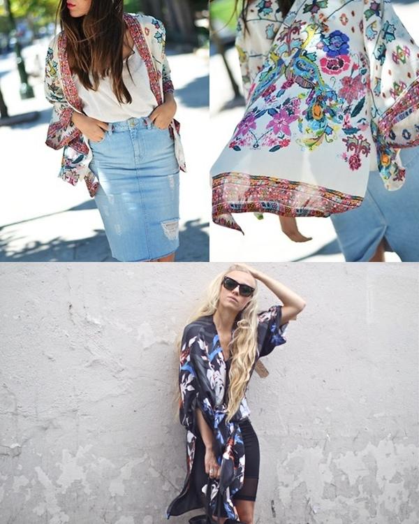 Áo khoác kimono - Xu hướng áo bay bổng, nhẹ bẫng của mùa hè 3
