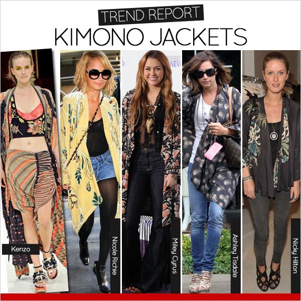 Áo khoác kimono - Xu hướng áo bay bổng, nhẹ bẫng của mùa hè 4