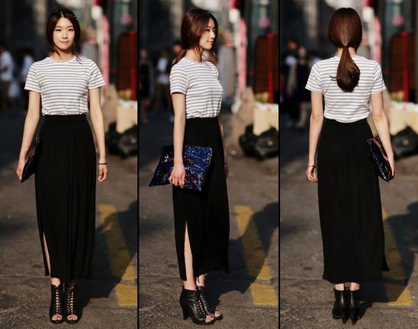 Tips mặc váy ngày nắng nóng cho những cô nàng... chân cong 18