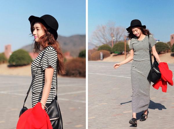 Tips mặc váy ngày nắng nóng cho những cô nàng... chân cong 20