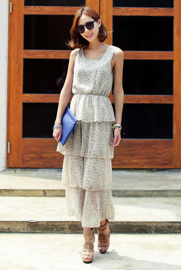 Dáng người nào, diện váy maxi thu đẹp kiểu nấy 24