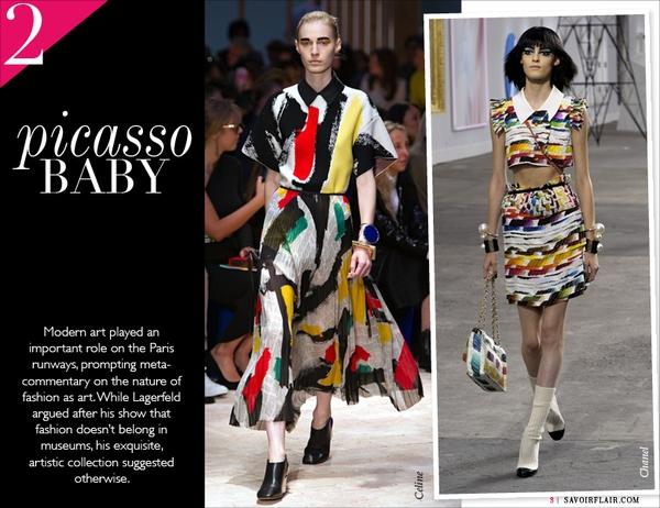 Loạt xu hướng xưa cũ quay trở lại tại Paris Fashion Week 6