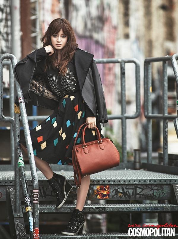 Kim Tae Hee, Tiffany & Lee Hyori cùng khoe dáng trên Cosmopolitan 1