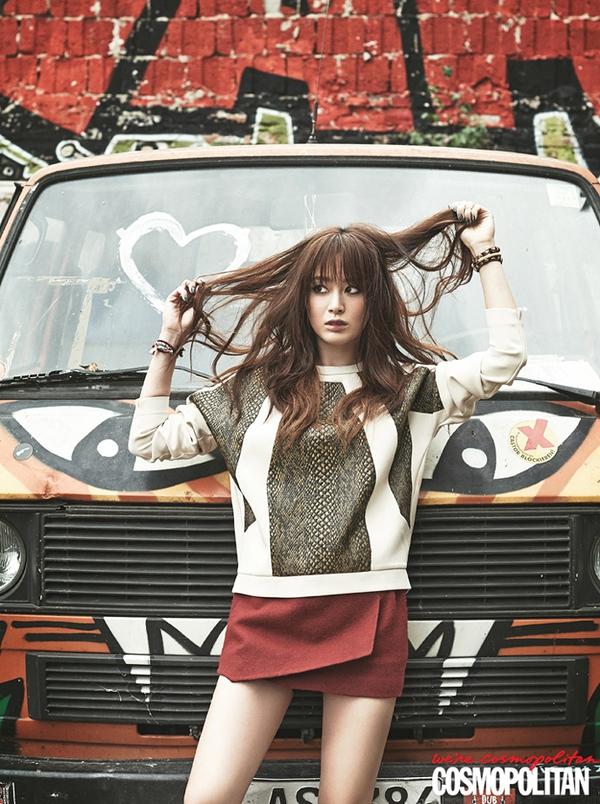 Kim Tae Hee, Tiffany & Lee Hyori cùng khoe dáng trên Cosmopolitan 2