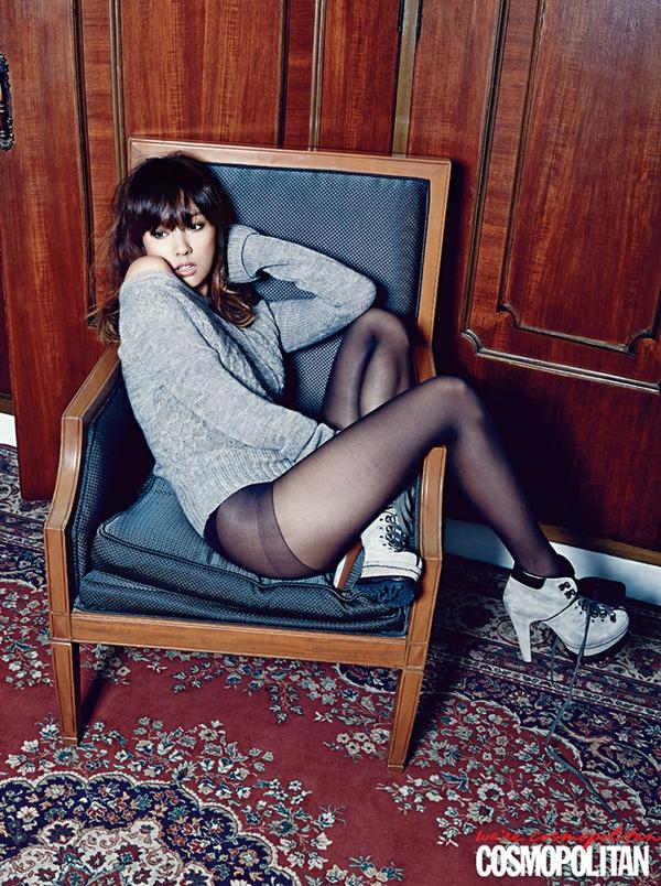 Kim Tae Hee, Tiffany & Lee Hyori cùng khoe dáng trên Cosmopolitan 8