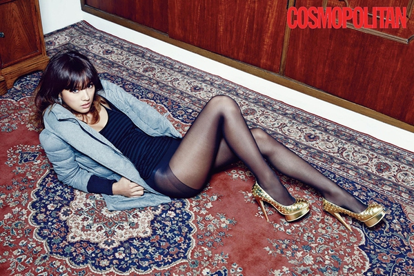 Kim Tae Hee, Tiffany & Lee Hyori cùng khoe dáng trên Cosmopolitan 9