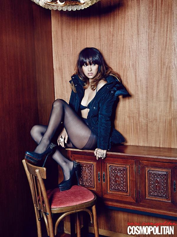Kim Tae Hee, Tiffany & Lee Hyori cùng khoe dáng trên Cosmopolitan 10
