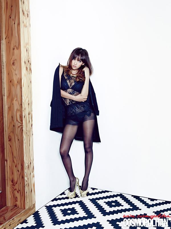 Kim Tae Hee, Tiffany & Lee Hyori cùng khoe dáng trên Cosmopolitan 11