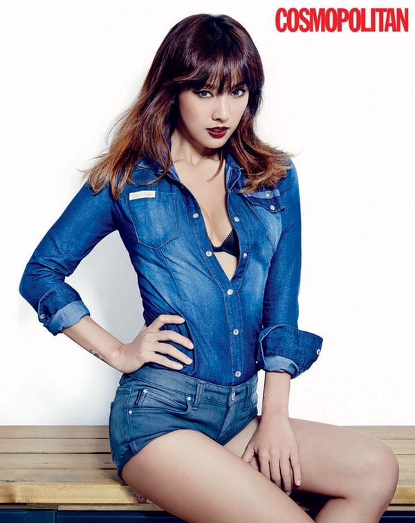 Kim Tae Hee, Tiffany & Lee Hyori cùng khoe dáng trên Cosmopolitan 13
