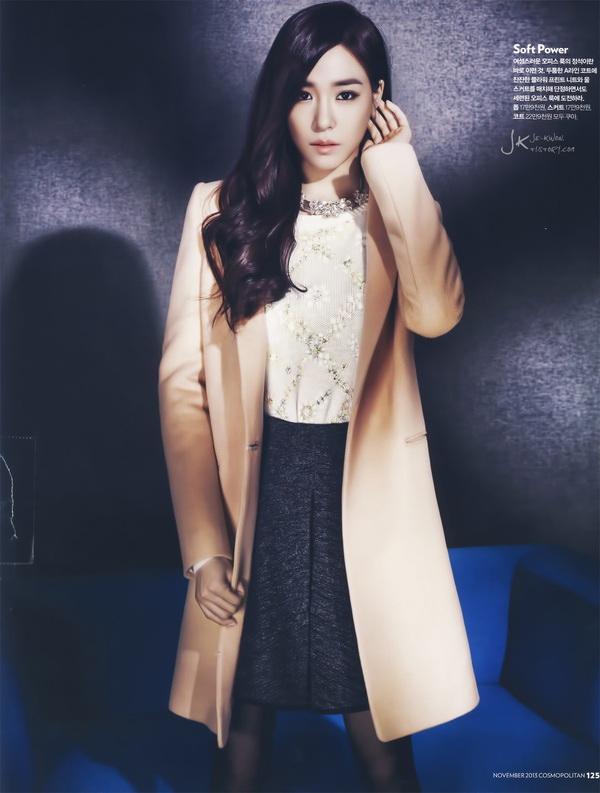 Kim Tae Hee, Tiffany & Lee Hyori cùng khoe dáng trên Cosmopolitan 14