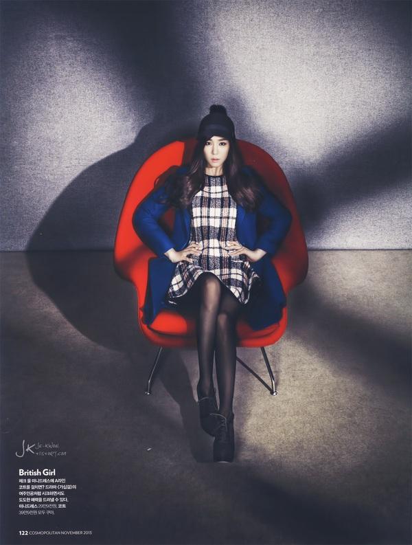 Kim Tae Hee, Tiffany & Lee Hyori cùng khoe dáng trên Cosmopolitan 16