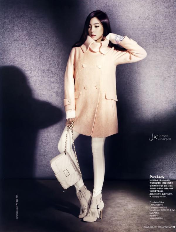 Kim Tae Hee, Tiffany & Lee Hyori cùng khoe dáng trên Cosmopolitan 17