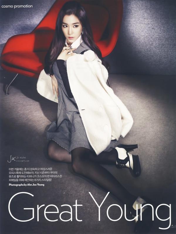 Kim Tae Hee, Tiffany & Lee Hyori cùng khoe dáng trên Cosmopolitan 20