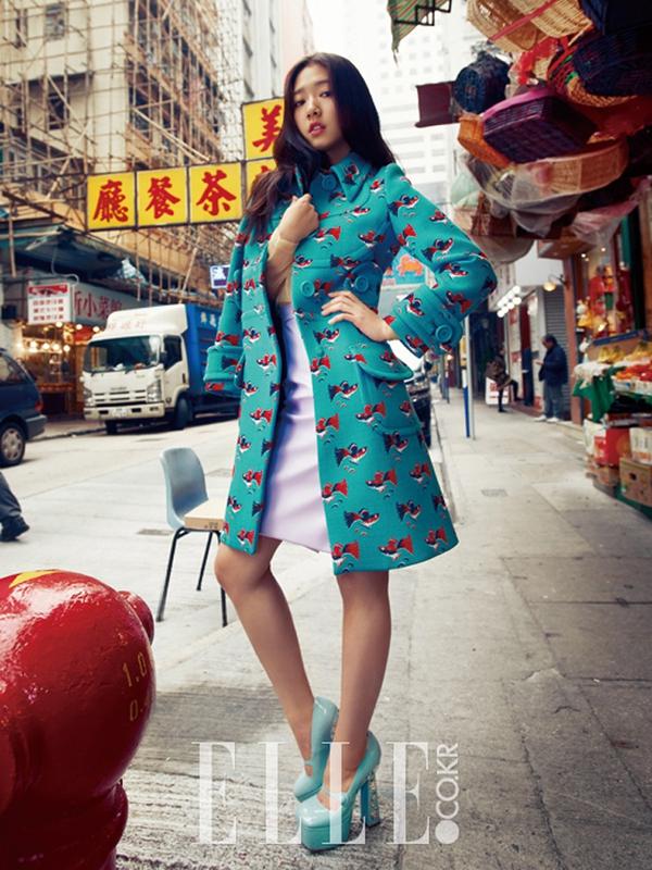 Park Shin Hye Jeon Ji Hyun Style Ng Y Xu N Tr N T P Ch