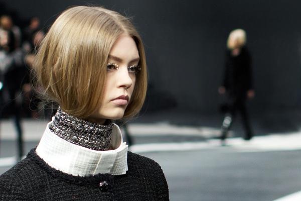 """""""Giấu tóc"""" - xu hướng làm đẹp lạ lẫm đầu năm 2014 3"""