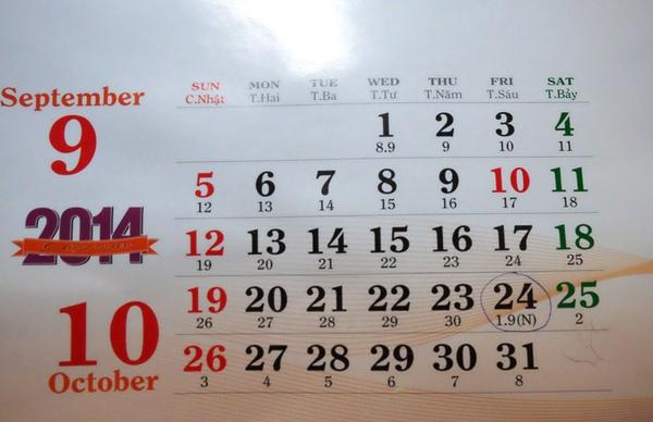 Thực hư tin đồn năm nay bỏ nhuận 2 tháng 9 2
