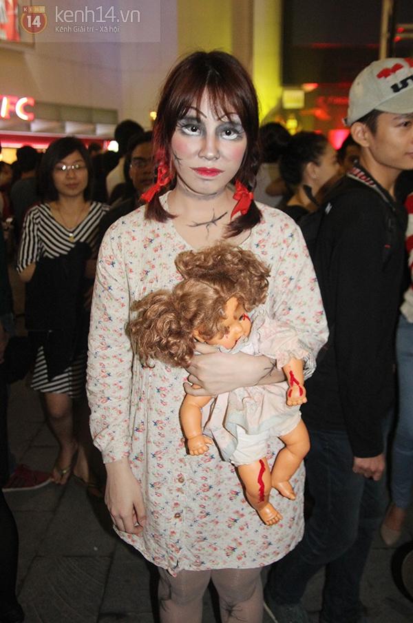 Hơn 3.000 bạn trẻ Hà thành có mặt trong lễ hội Halloween lớn nhất năm 8