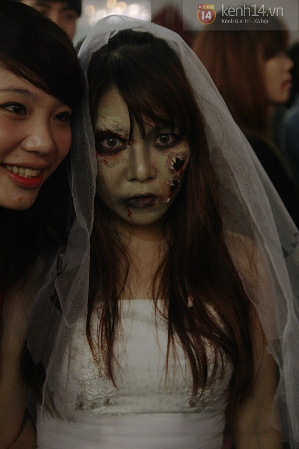 Hơn 3.000 bạn trẻ Hà thành có mặt trong lễ hội Halloween lớn nhất năm 7