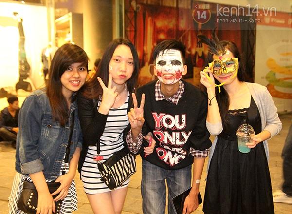 Hơn 3.000 bạn trẻ Hà thành có mặt trong lễ hội Halloween lớn nhất năm 14