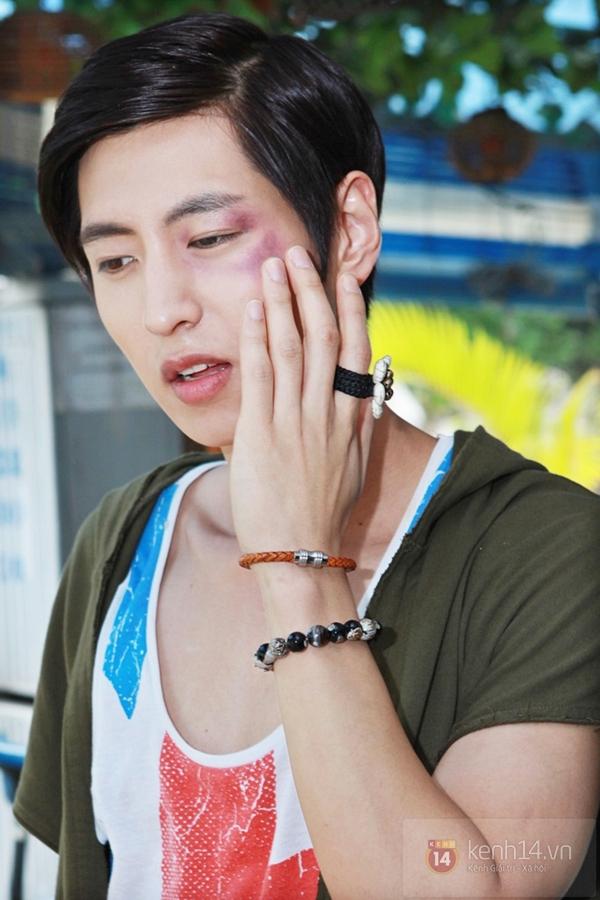 Mỹ nam Hàn bị đánh te tua trong phim Việt 10