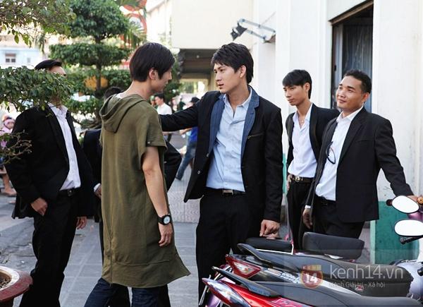 Mỹ nam Hàn bị đánh te tua trong phim Việt 8