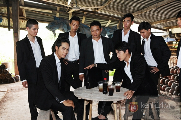 Mỹ nam Hàn bị đánh te tua trong phim Việt 6